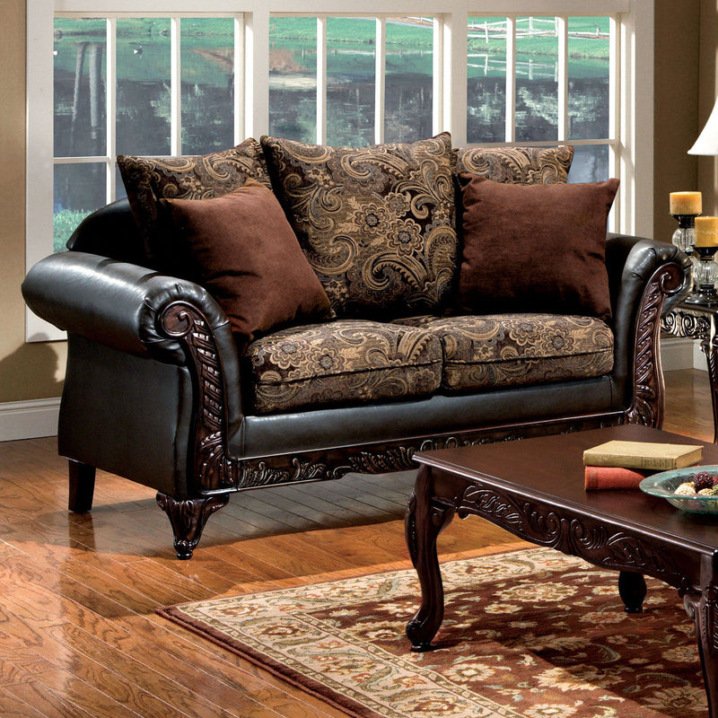 Rotherham - Loveseat - Brown