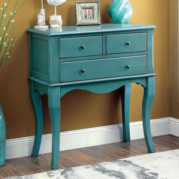 Sian - Hallway Cabinet - Antique Teal