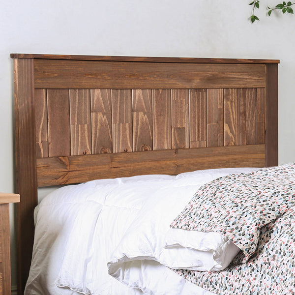 Ila - E.King Headboard - Mahogany
