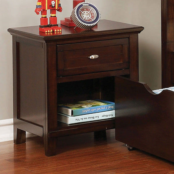 Brogan - Night Stand - Brown Cherry