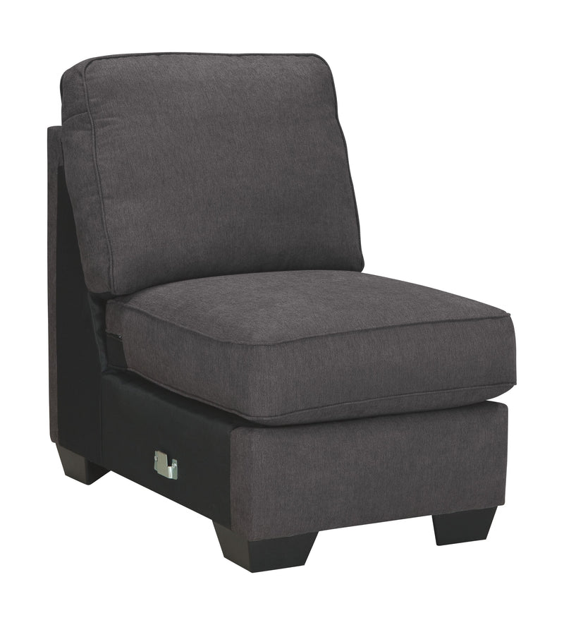Alenya - Charcoal - Armless Chair