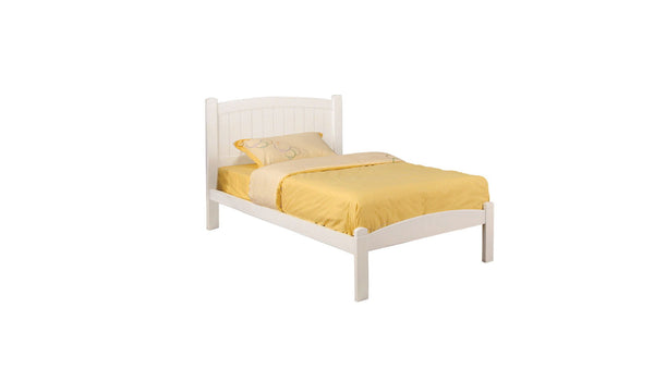 Caren - Twin Bed - White