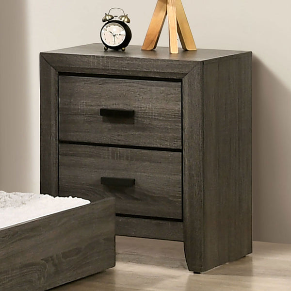 Roanne - Night Stand - Gray
