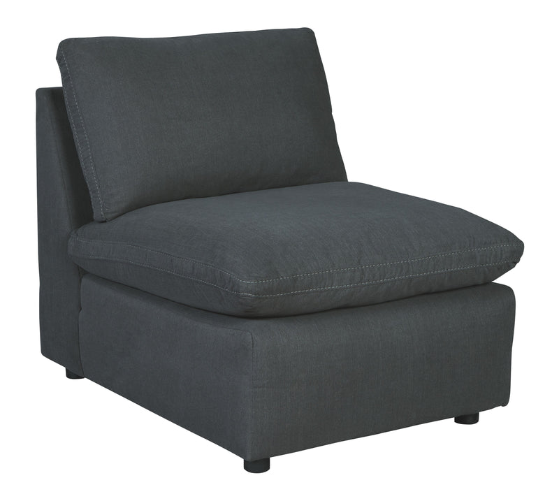 Savesto - Charcoal - Armless Chair