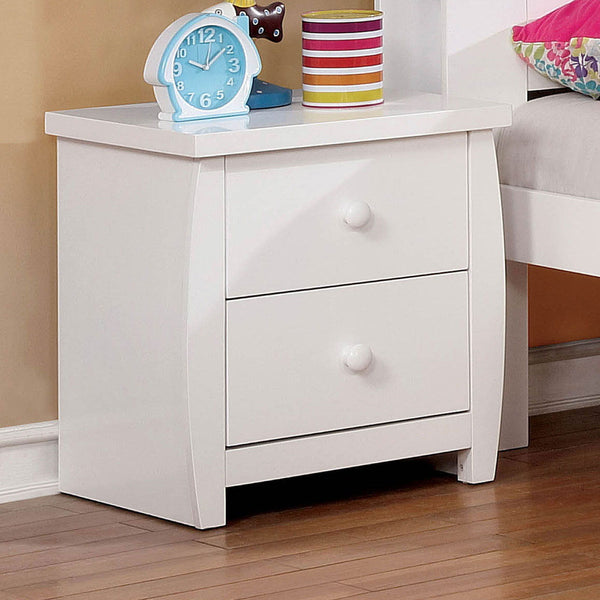 Marlee - Night Stand - White