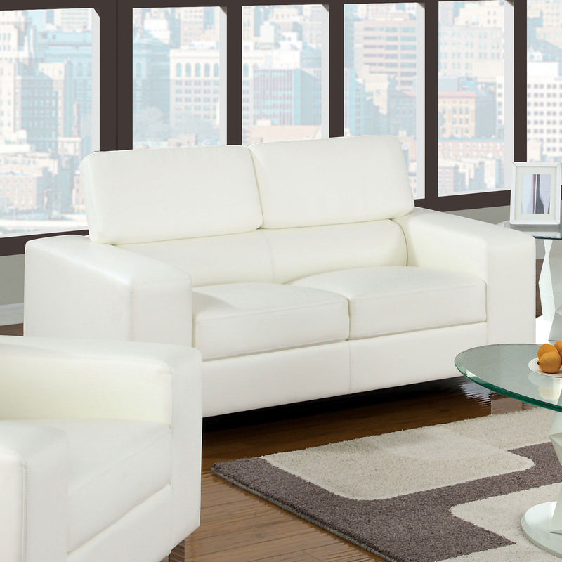 Makri - Loveseat - White