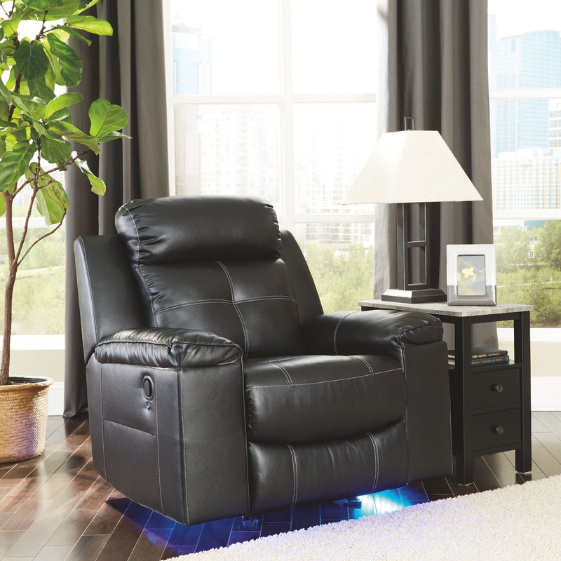 Kempten - Black - Rocker Recliner