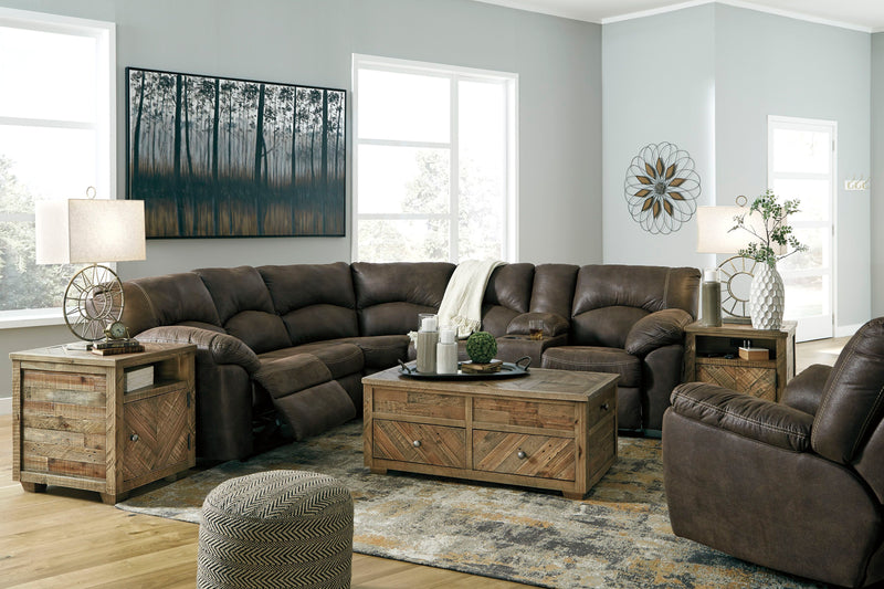 Tambo - Canyon - LAF/RAF REC Loveseat Sectional & Rocker Recliner