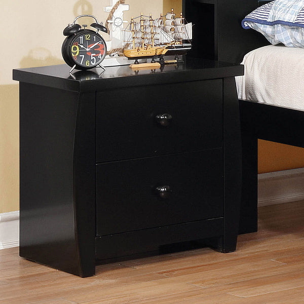 Marlee - Night Stand - Black