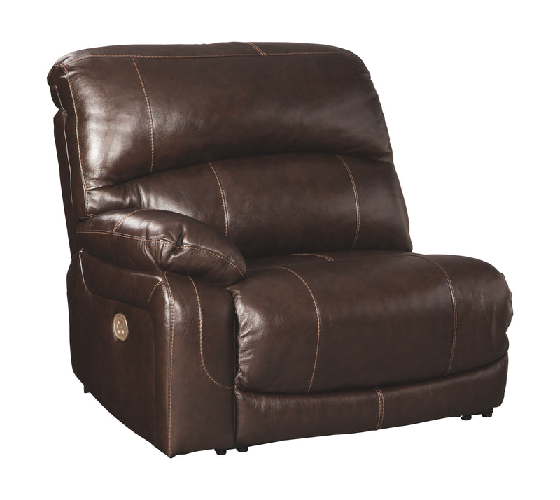 Hallstrung - Chocolate - LAF Zero Wall Power Recliner