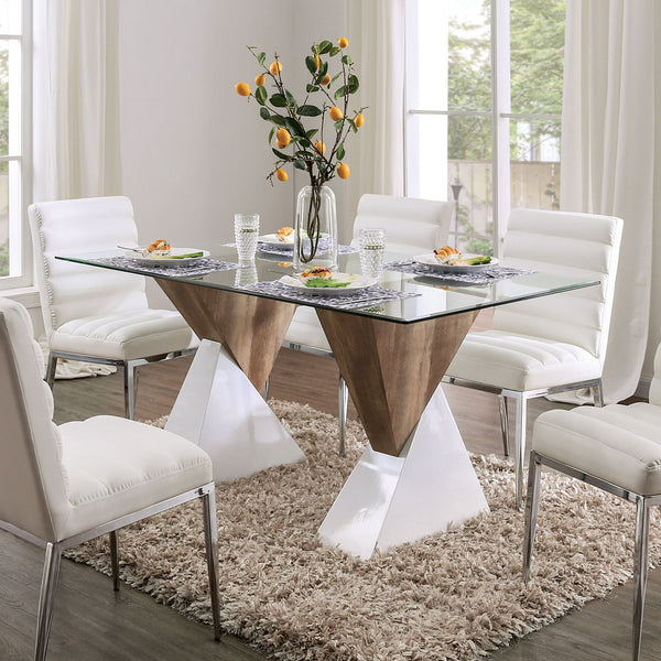 Binjai - Dining Table - White