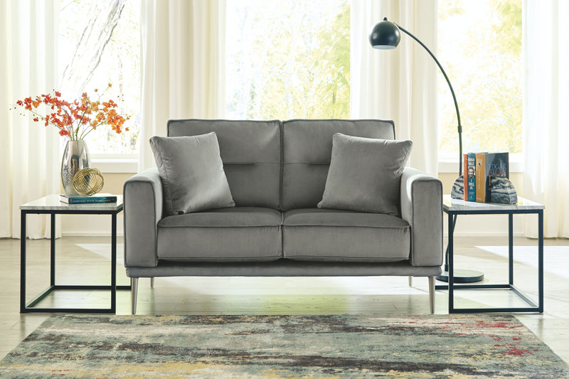Macleary - Steel - Loveseat