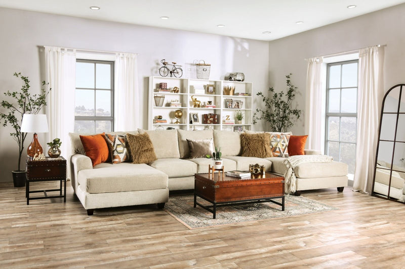 Carnforth - Sectional - Tan