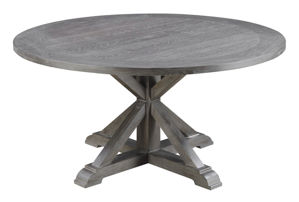 Paladin Round Dining Table, Gray