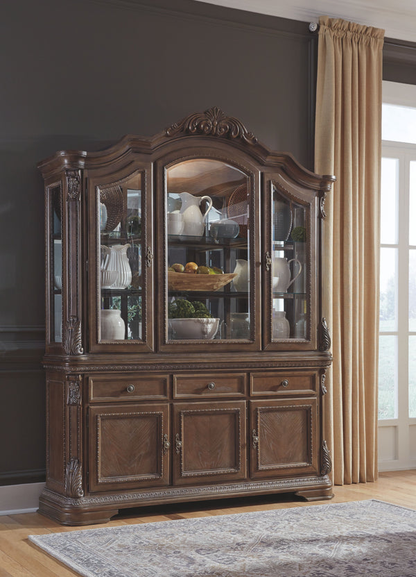 Charmond - Brown - DRM Buffet & China Cabinet