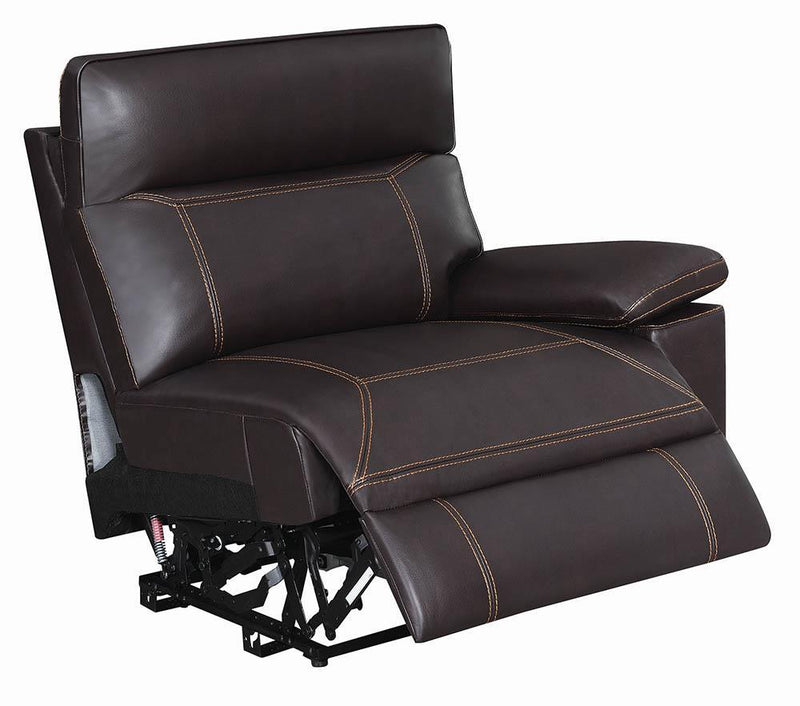 Albany Motion Collection - Brown - Raf Power2 Recliner