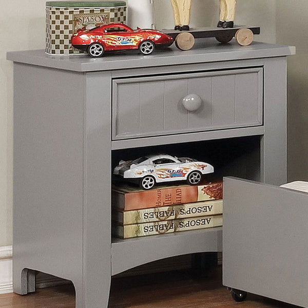 Caren - Night Stand - Gray
