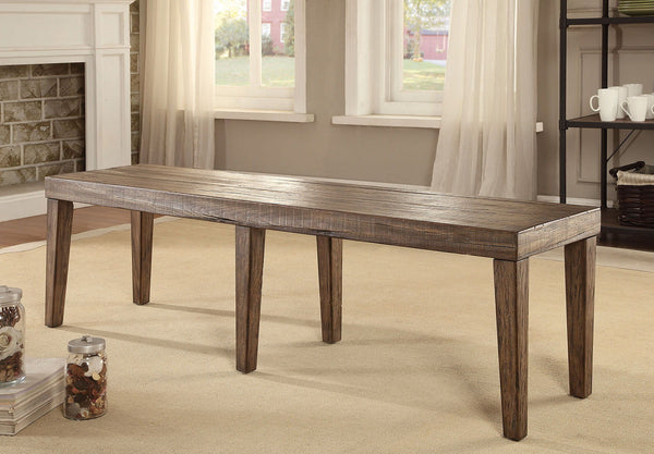 Colettte - Bench - Rustic Oak