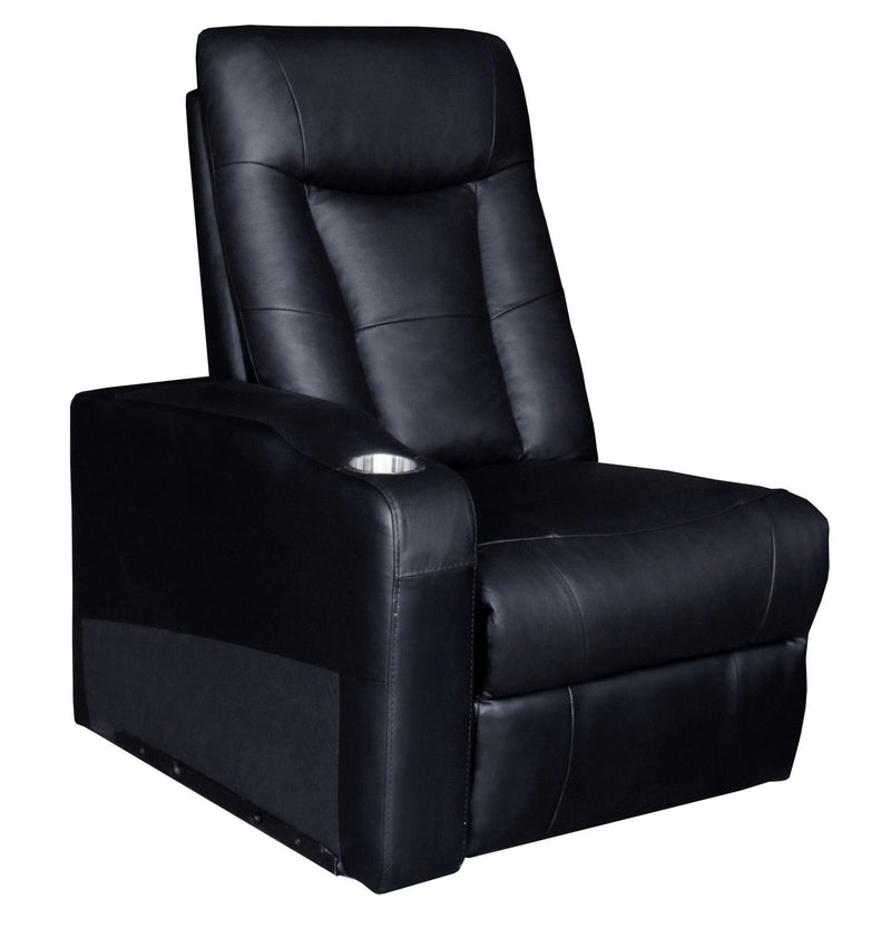 Pavillion Home Theater Collection - Black - Pavillion Adjustable Headrest Element Recliner Black