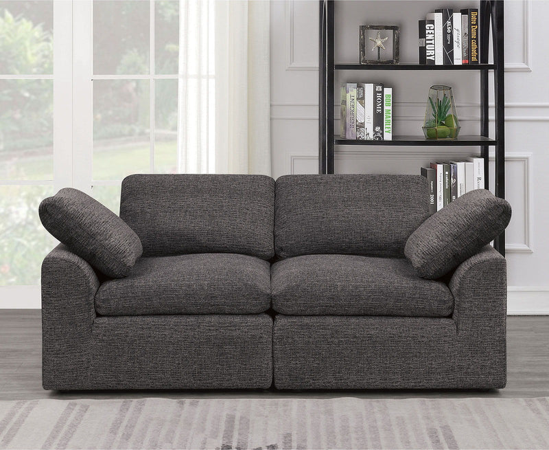 Joel - Loveseat - Gray