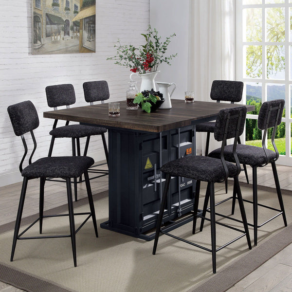 Esdargo - Counter Ht. Table - Black