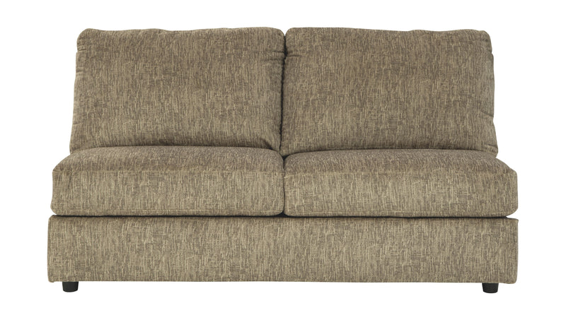 Hoylake - Chocolate - Armless Loveseat