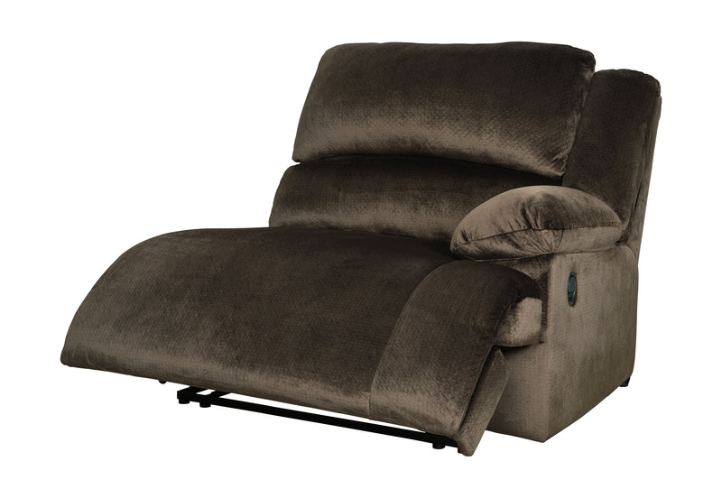 Clonmel - Chocolate - RAF Zero Wall Recliner