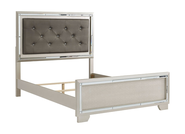 Lonnix - Gray - Full UPH Panel Headboard