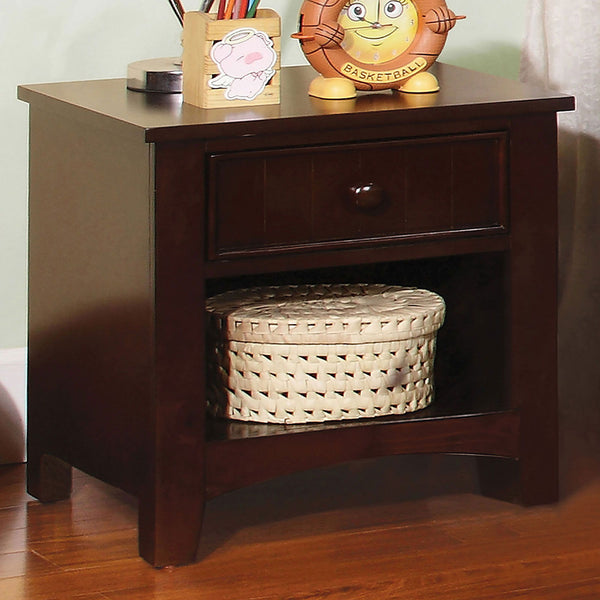 Omnus - Night Stand - Dark Walnut