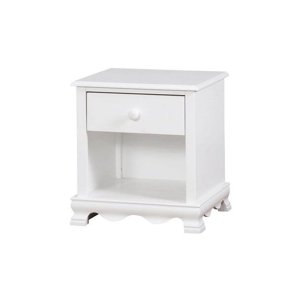 Dani - Night Stand - White