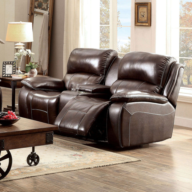 Ruth - Loveseat - Brown