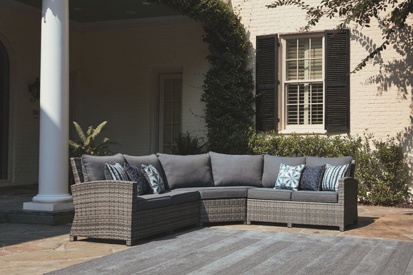 Salem Beach - Gray - Sectional Lounge
