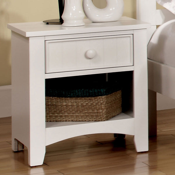 Omnus - Night Stand - White