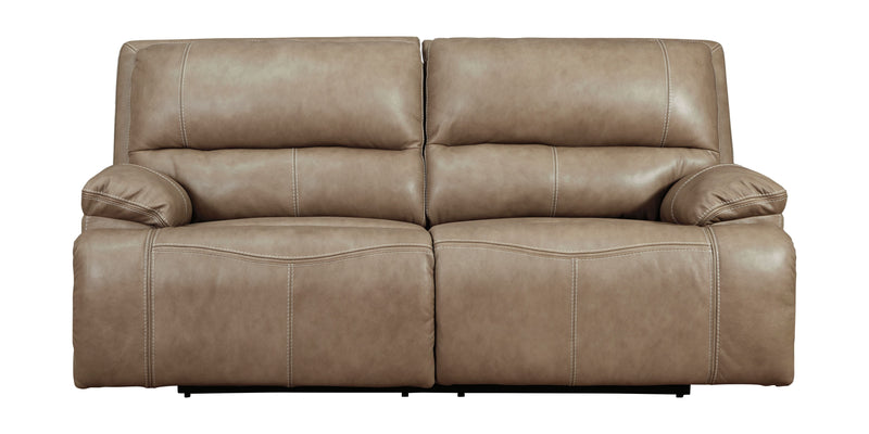 Ricmen - Putty - 2 Seat PWR REC Sofa ADJ HDREST