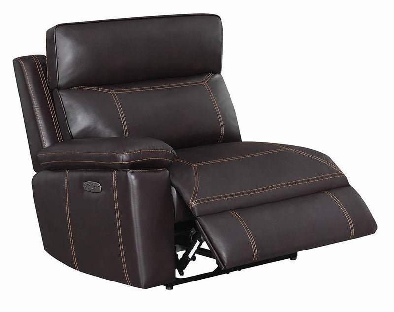 Albany Motion Collection - Brown - Laf Power2 Recliner