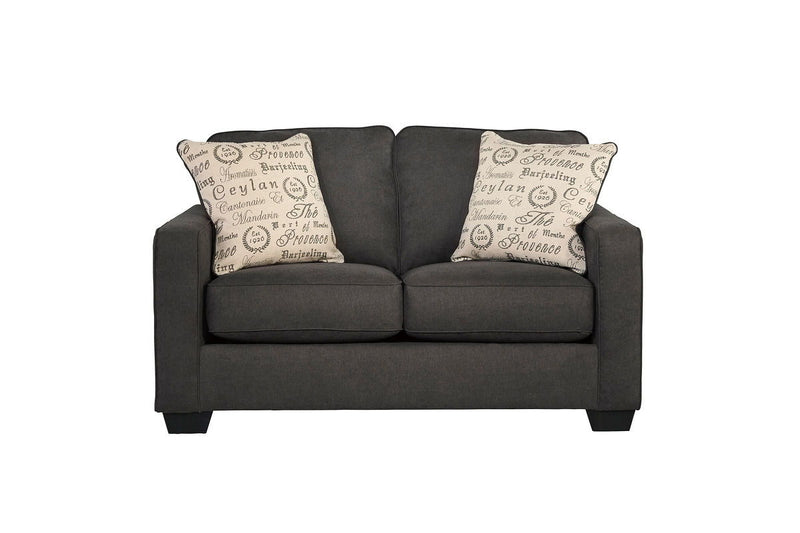 Alenya - Charcoal - Loveseat