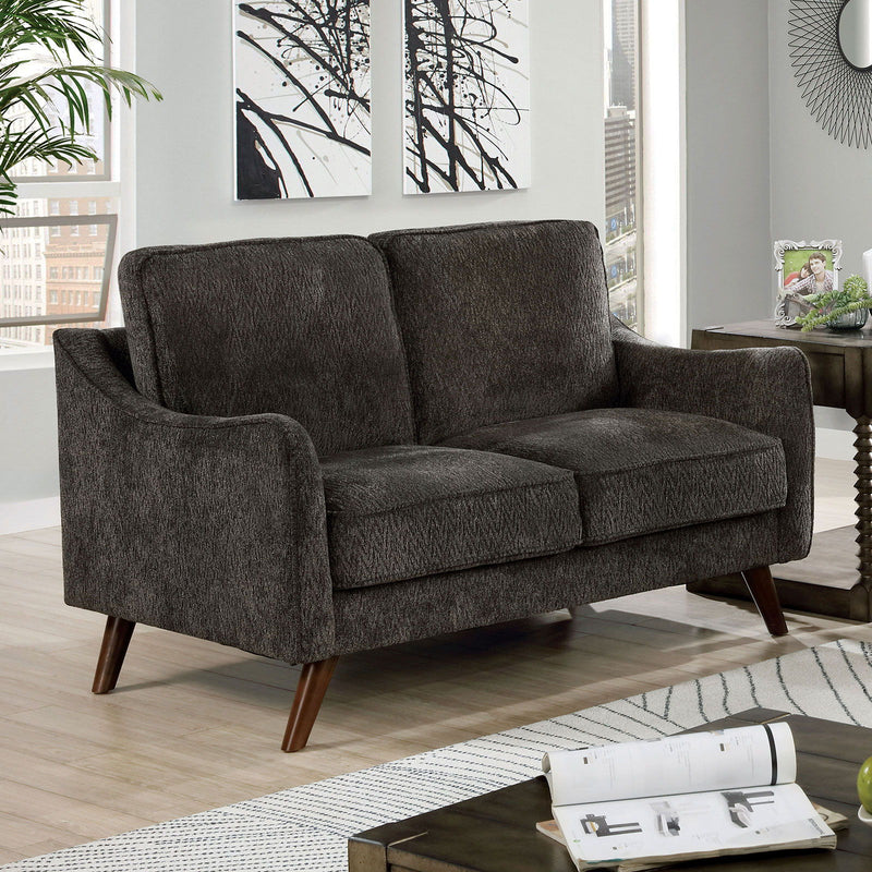 Maxime - Loveseat - Dark Gray