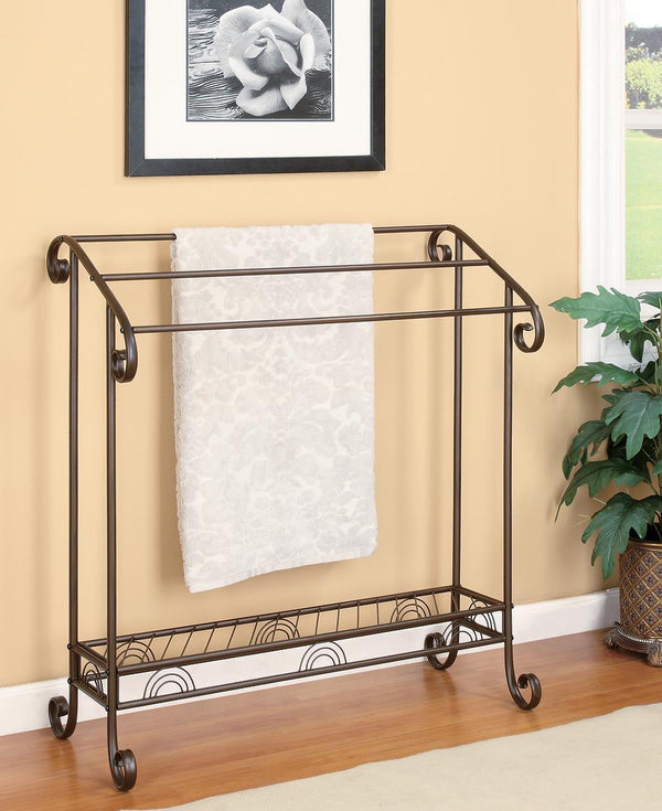 3-tier Towel Rack Dark Bronze