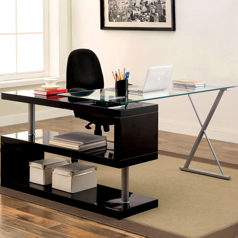 Bronwen - Computer Desk - Black