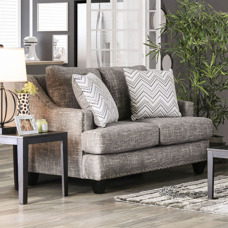Erika - Loveseat - Gray