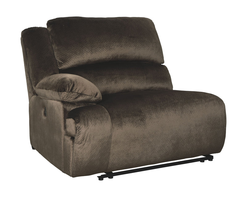 Clonmel - Chocolate - LAF Zero Wall Power Recliner