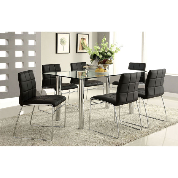 Kona I - Dining Table - Chrome