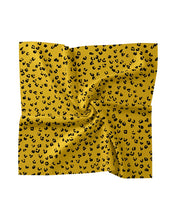 Load image into Gallery viewer, Nicole Miller Ditsy Leopard Silk Scarf