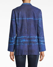 Load image into Gallery viewer, Nicole Miller Shibori Stripe Blazer