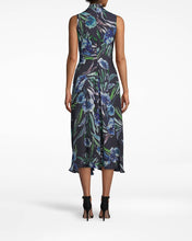 Load image into Gallery viewer, Nicole Miller Blue Mirage High Low Dress