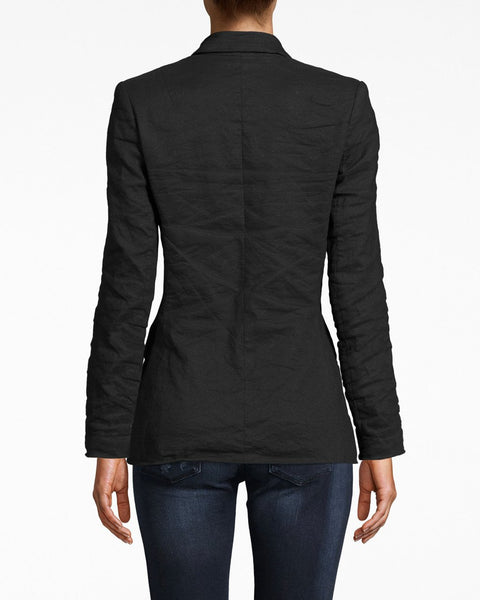 Nicole Miller Cotton Metal Blazer