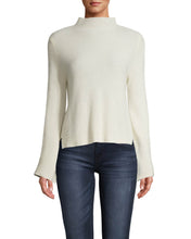 Load image into Gallery viewer, Nicole Miller Cashmere Mock Neck Sweater