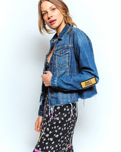Load image into Gallery viewer, Nicole Miller Embroidered Denim Jacket