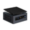 Mini-PC Intel NUC8i5BEH2 i5-8259U WIFI LAN Bluetooth Musta