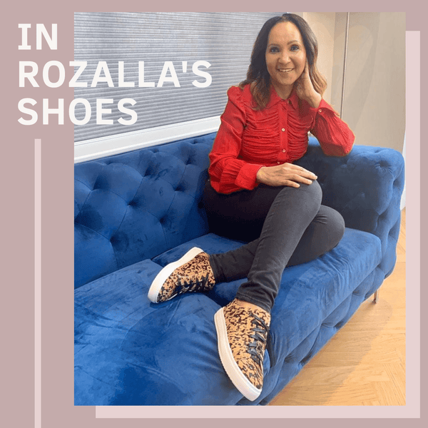 In Rozalla's Shoes | In Your Shoes by Cocorose London | Hoxton Leopard Print Trainers